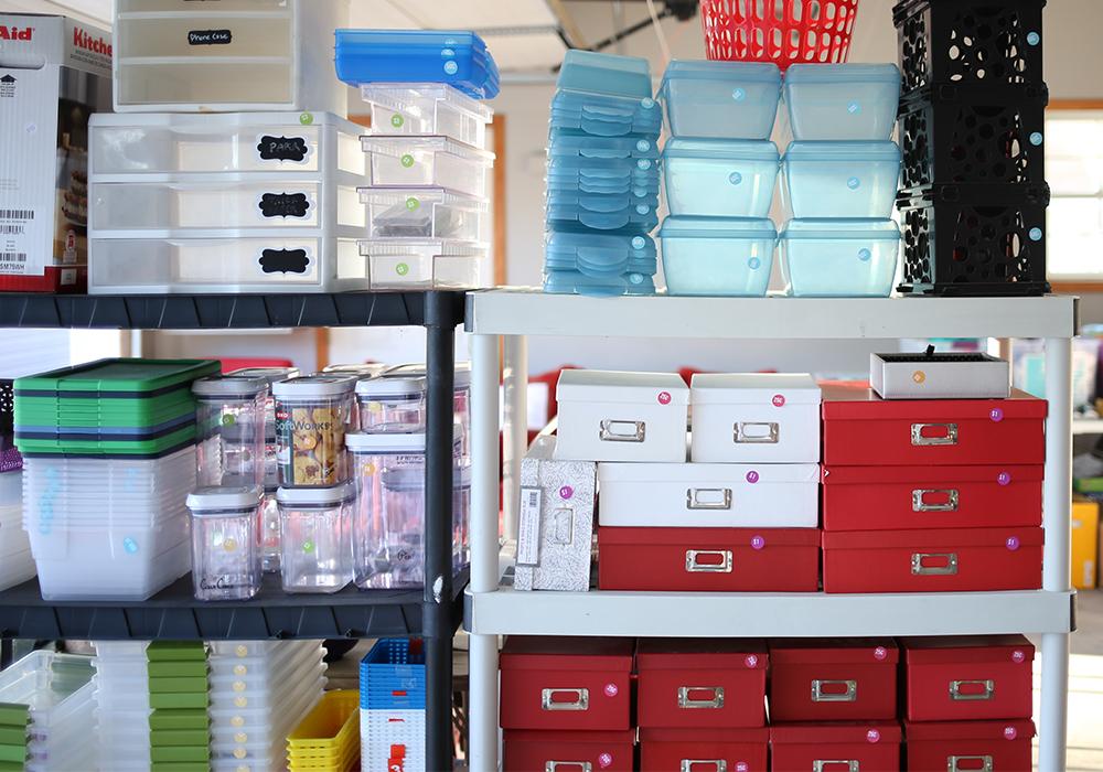 moving sale item arrangment