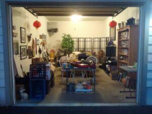 declutter garage before moving