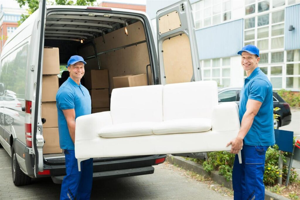 Call the pros to move large furniture