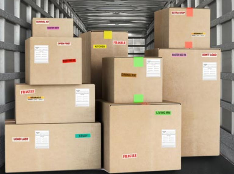 make your moving day more organized