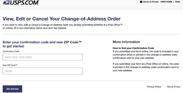 How to Change Your Postal Address When Relocating