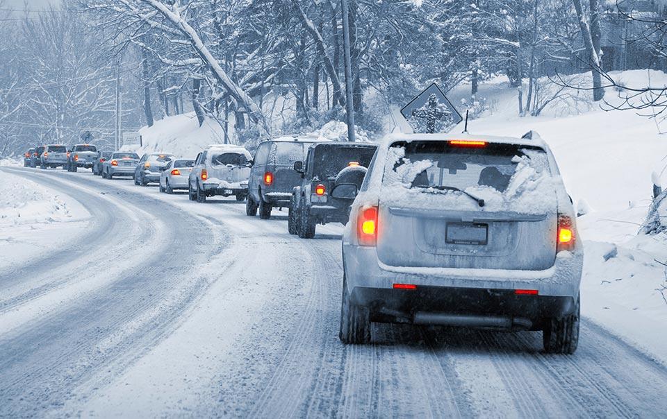 Winter delay when moving